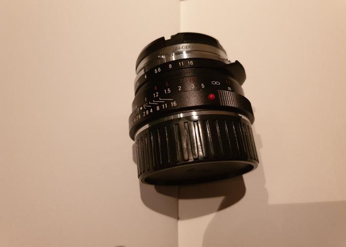 Voightlander Nokton Classic 40mm f1.4 - 2