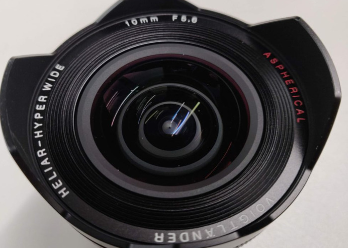 Voigtlander 10mm 5.6 E aspherical for Sony E-Mount - 1