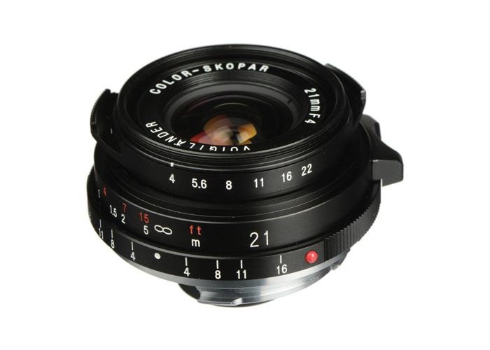 Voigtlander 21mm f4 VM Colour Skopar Lens - 1