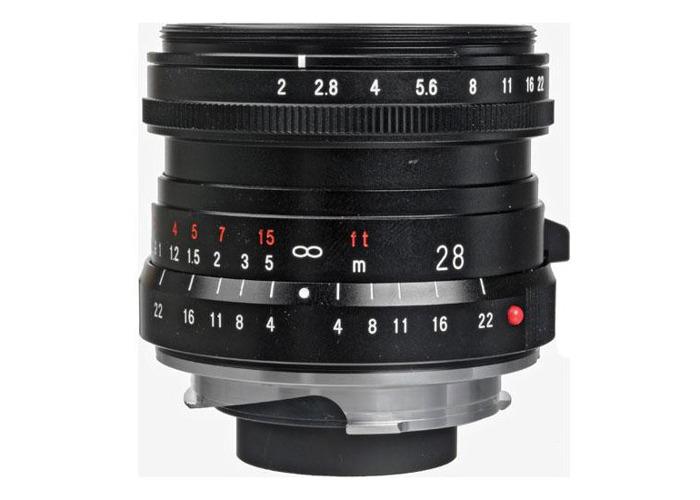Voigtlander 28mm f2 VM Ultron Lens - 1