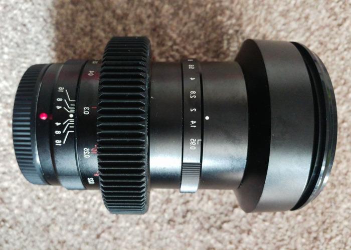 Voigtlander Nokton 25mm f0.95 Nokton Lens - Cine-modded - mft - BMPCC GH5  - 1