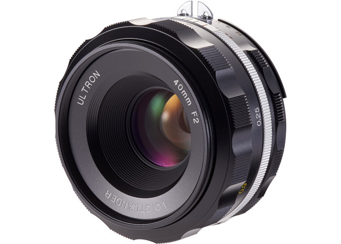 Voigtlander Ultron 40mm f/2 SL IIS Aspherical Lens for Nikon F (Black Rim) - 1