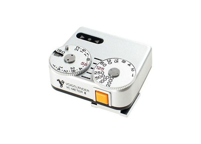 Voigtlander VC Speed Meter II Silver - 1