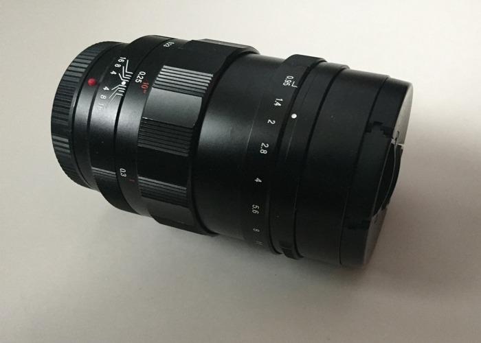 Voigtländer Nokton 42.5mm f/0.95, Micro 4/3 mount - 1