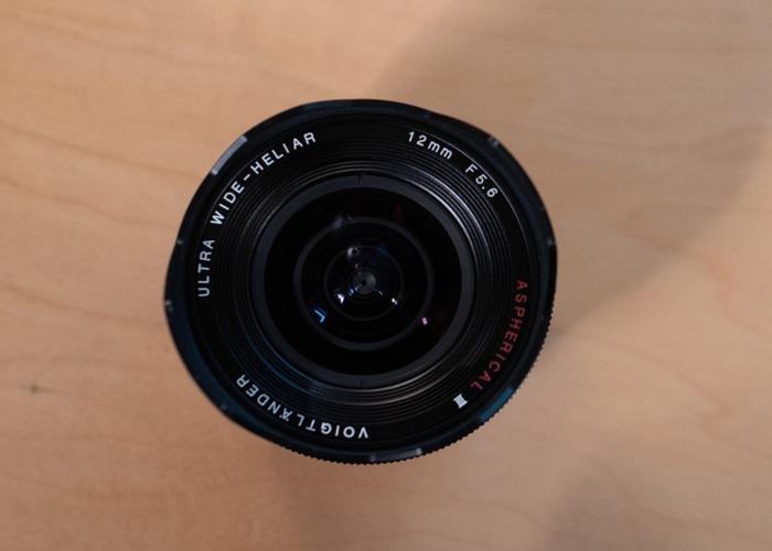Voigtländer 12mm f5.6 for Sony E - 1