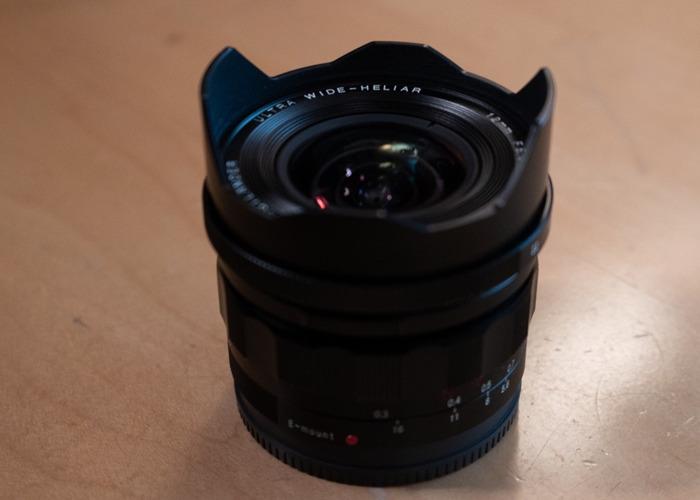 Voigtländer 12mm f5.6 for Sony E - 2