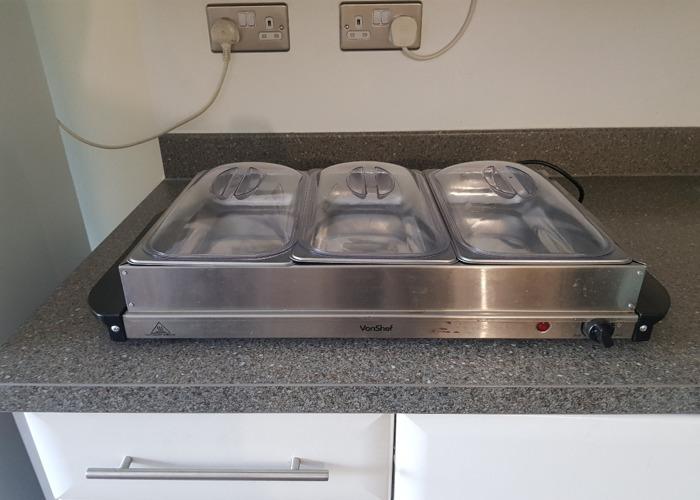 Vonshef food warmer buffet server - 1