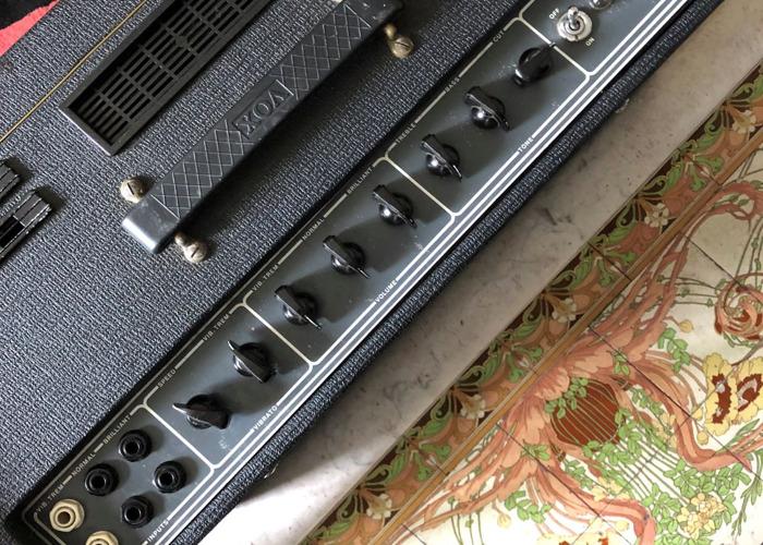 Vox AC-30 Top Boost Valve Guitar Amp - 1975 Classic - 2