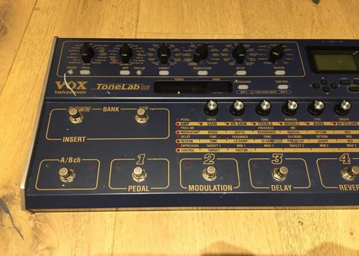 Vox Tonelab SE Guitar Effects Pedal - 2