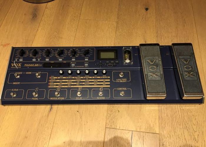 Vox Tonelab SE Guitar Effects Pedal - 1