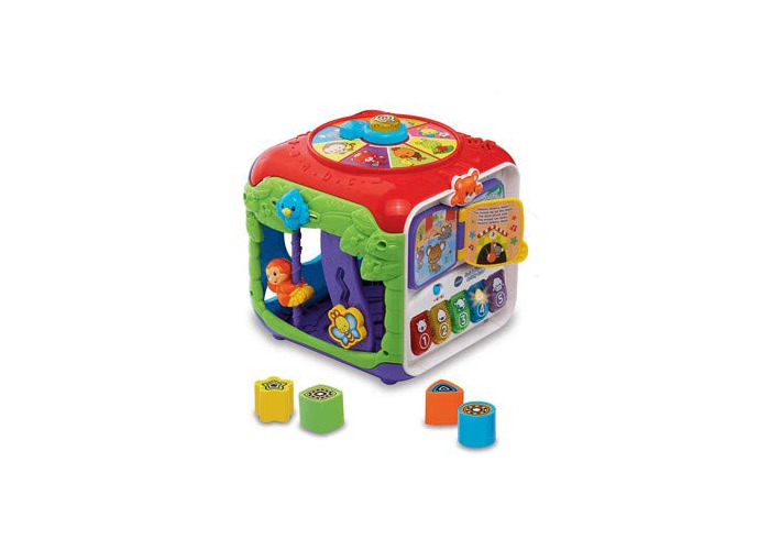 Vtech COS263656 Sort and Discover Activity Cube, Multi - 1