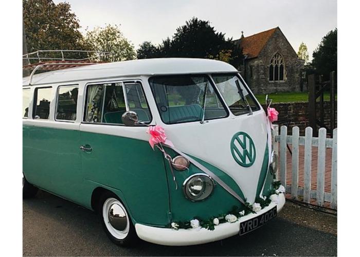 VW Splitscreen wedding hire - 1