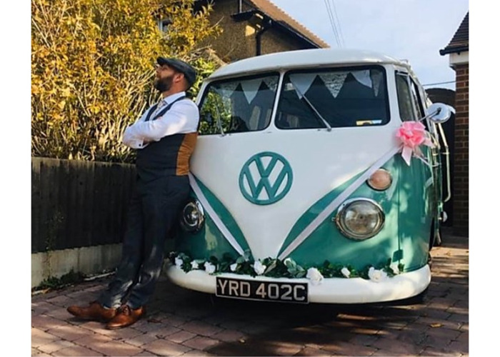 VW Splitscreen wedding hire - 2