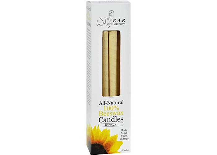 Wally Ear Candle, Beeswax (12 ct) - 1