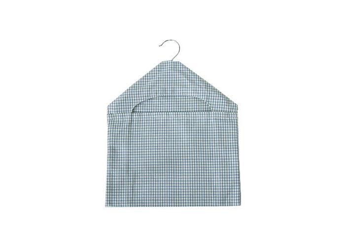 Walton & Co Auberge Gingham Peg Bag Wedgwood Blue - 1