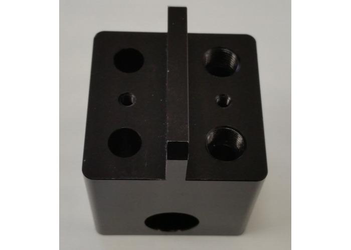 Wanhao Duplicator 5S Extruder/print head Block - 1