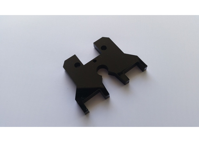 Wanhao MK9 extruder top plate cover - 1