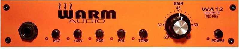 Warm Audio WA12 Mic Preamplifier - 1