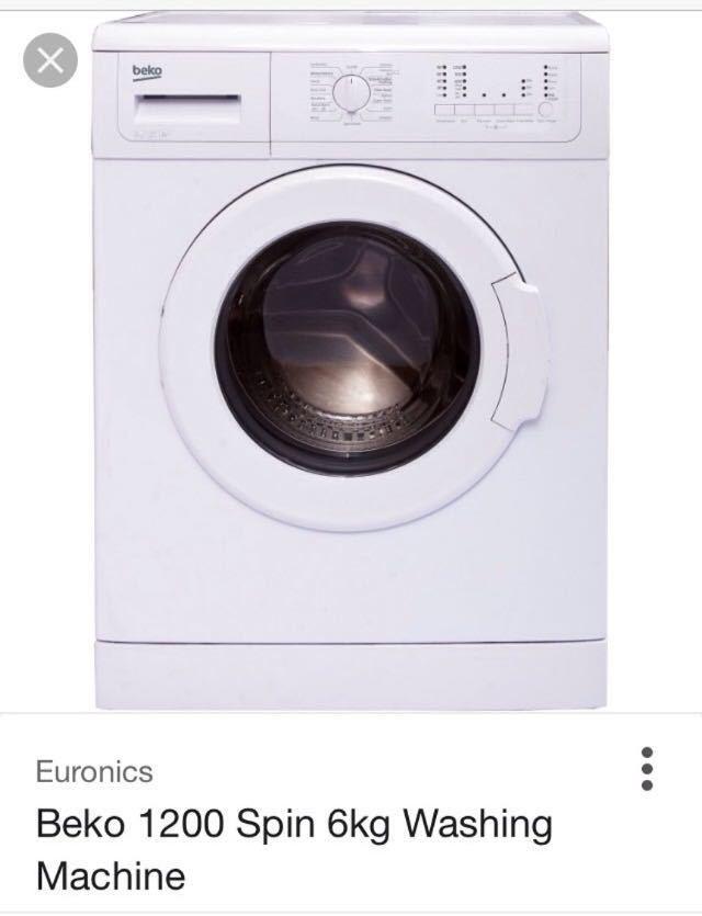 Washing machine  - 1