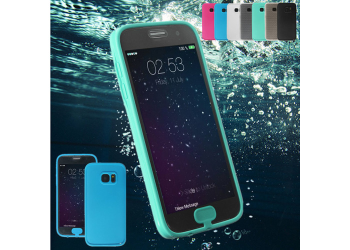 Waterproof Shockproof Touch Screen TPU Cover Case  for Samsung Galaxy S7 - 1