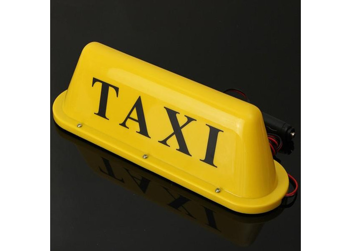 Waterproof Taxi Magnetic Base Roof Top Car Cab LED Sign Light Lamp - 2