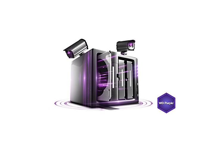 WD Purple 3 TB Surveillance  Hard Disk Drive, Intellipower 3.5 Inch SATA 6 Gb/s 64 MB Cache 5400 rpm - 2