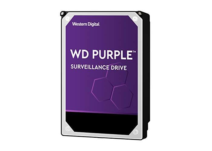 WD Purple 3 TB Surveillance  Hard Disk Drive, Intellipower 3.5 Inch SATA 6 Gb/s 64 MB Cache 5400 rpm - 1