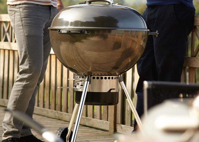 Weber Master-Touch Gourmet System Grate Charcoal BBQ // 57cm - 2