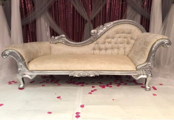 Wedding / Birthday Chaise Sofa - 1