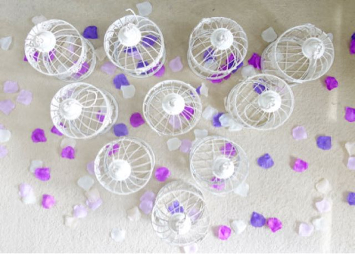 Wedding Bird Cages - Table Decorations - 1