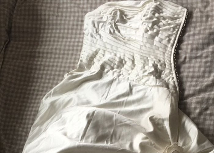 Wedding Dress - Size 10 - 1