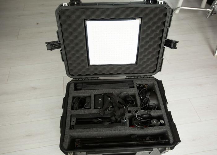 Westcott Flex Bi-Color LED 2-Light Cine Travel Kit (1' X 1') - 1