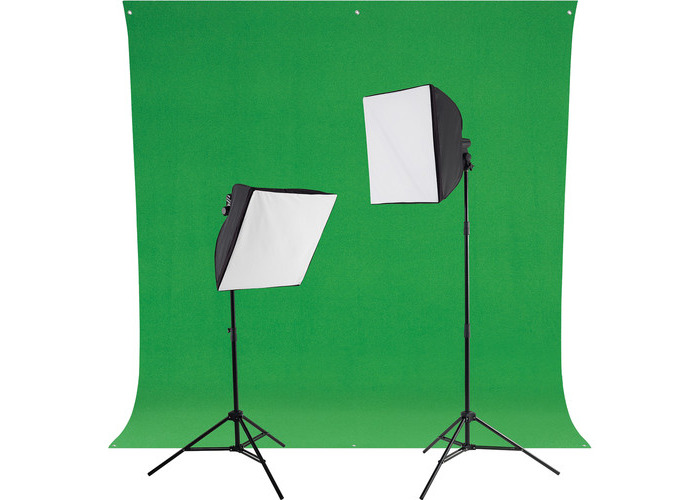 Westcott uLite LED Green Screen Photo Lighting Kit - 1