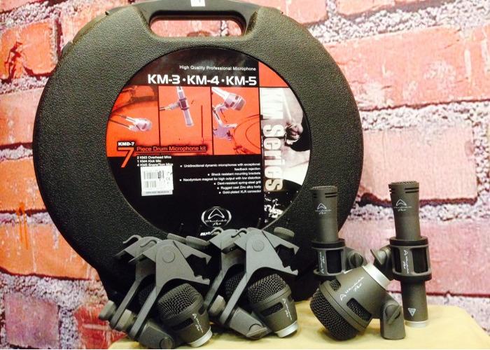 Wharfedale drum mic set - 1