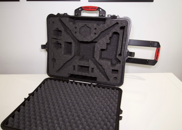 WHEELED HARD RESIN CASE HPRC2700W FOR DJI PHANTOM SERIES - 2
