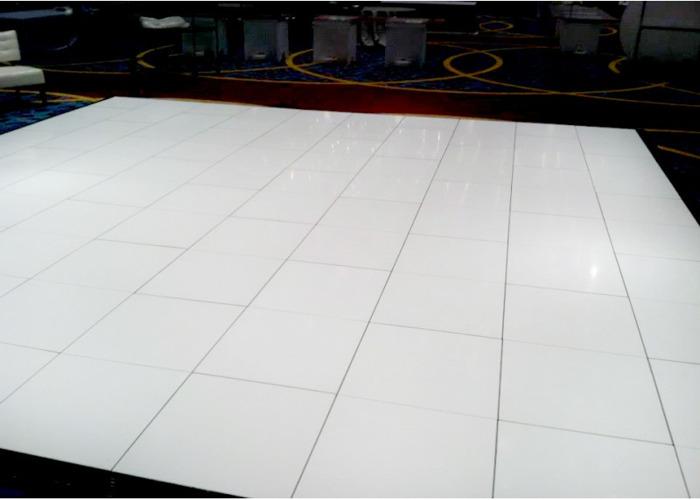 White Dance Floor - 1
