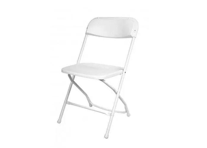 White Folding Chair - 2