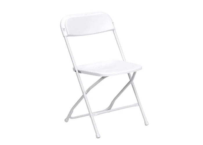 White Folding Chair - 1