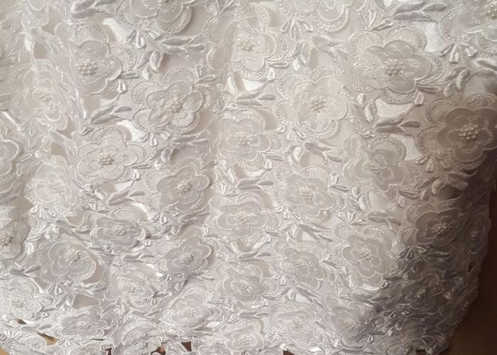 White lace wedding dress - 2