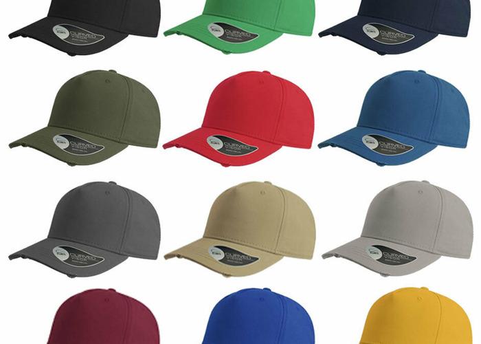 Wholesale Bulk Sale Atlantis Distressed Cargo Ripped Curved Cap Hats  - 1