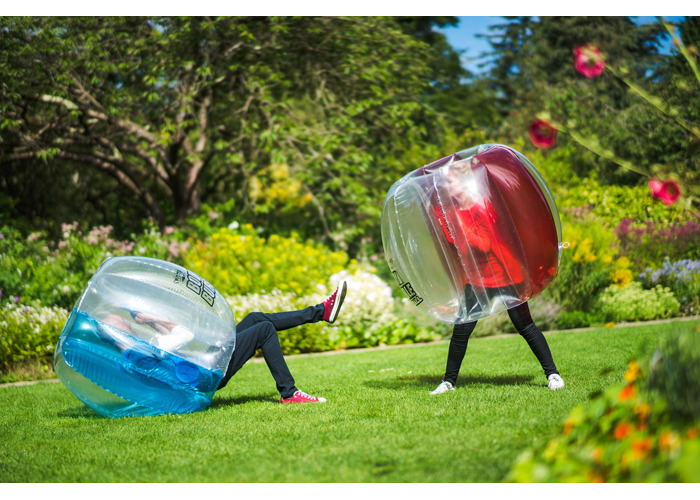 Wicked WDBOD- B Body Bubble Ball, Blue, 122cm x 99cm - 2