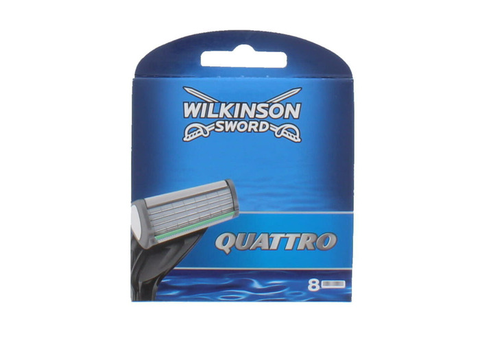 Wilkinson Sword Quattro Plus Razor Blades 4-8-12 Or 16 Blades - 1