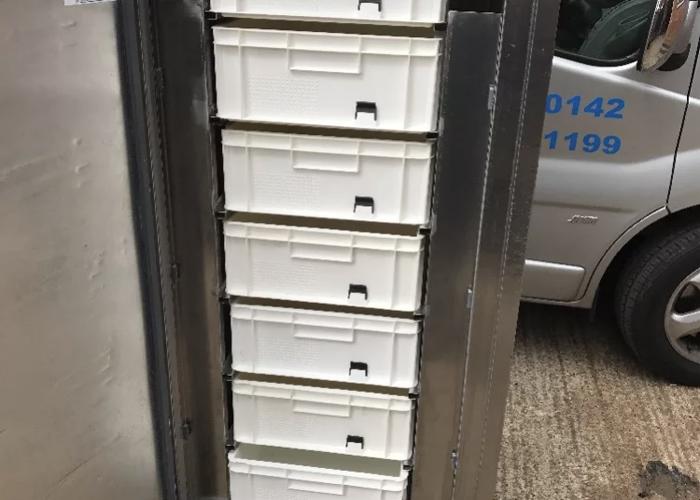 Williams commercial freezer - 1