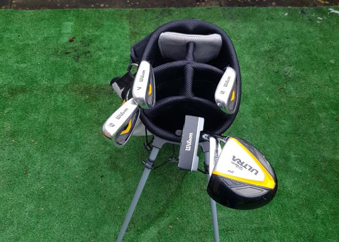 Wilson Mens Half Golf Set Right Hand - 2
