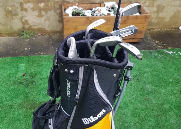 Wilson Mens Half Golf Set Right Hand - 1