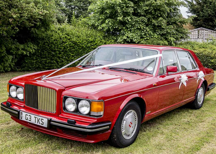 Wing Commander Vermillion Red Bentley Turbo R - 1