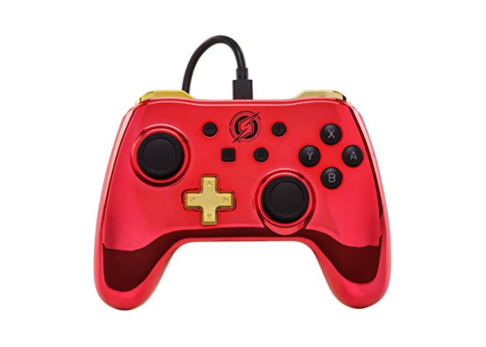 Wired Controller for Nintendo Switch - Chrome Metroid [video game] - 1