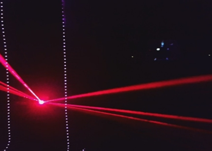 Wireless laser and smoke machine  - 2