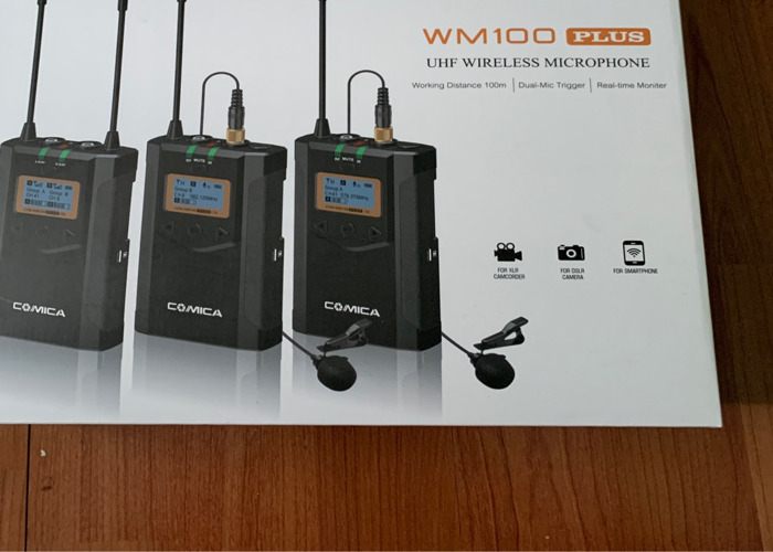 Wireless Radio Mic (x2) - 1