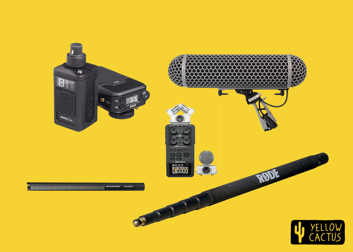 Wireless Sound Recording Kit (With Zoom H6) - 1